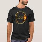 Gesamtsolareklipse 8.21.2017 USA addieren Ihren T-Shirt