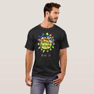 Gesamtsolareklipse-heller Krawatten-T - Shirt