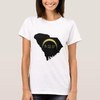 Gesamtsolareklipse-South- CarolinaSilhouette 2017 T-Shirt