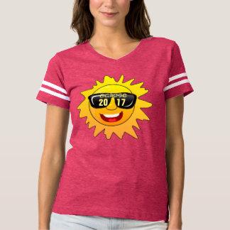 GesamtsolareklipseHipster-T - Shirtentwurf 2017 T-shirt