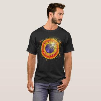 GesamtSonnenfinsternis-Mond-Gesicht T-Shirt