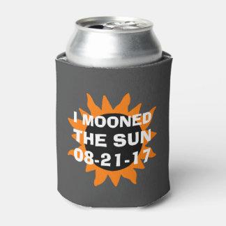 GesamtSonnenfinsternis Mooned ich den lustigen Sun Dosenkühler
