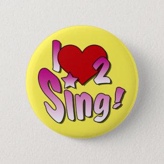 Gesang-Abzeichen Runder Button 5,7 Cm