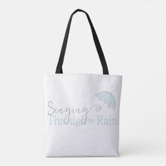 Gesang durch die Regen-Taschen-Tasche Tasche