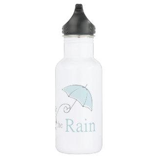 Gesang durch die Regen-Wasser-Flasche Trinkflasche