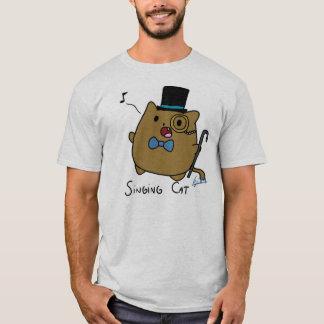 Gesang-Katze T-Shirt