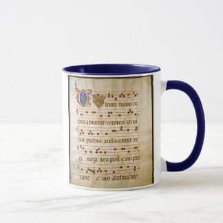 Gesang manuscript.jpg, gregorianischer Gesang: , Tasse