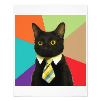 Geschäfts-Auto-Ratetier Meme 11,4 X 14,2 Cm Flyer
