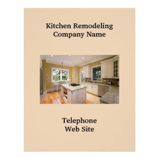 Geschäfts-Flyer der Küchen-Remodeler2 21,6 X 27,9 Cm Flyer