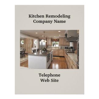 Geschäfts-Flyer der Küchen-Remodeler3 21,6 X 27,9 Cm Flyer