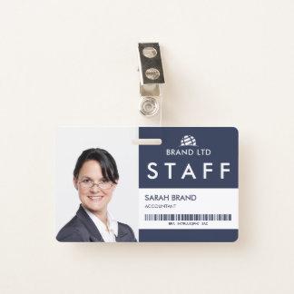Geschäfts-Foto Identifikations-Personal Ausweis