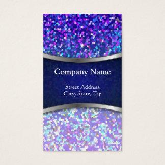 Geschäfts-Karten-Glitter-Grafik-Hintergrund Visitenkarten