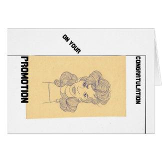 Geschäfts-Karten, Werbeaktion-Gruß-Karten Mitteilungskarte
