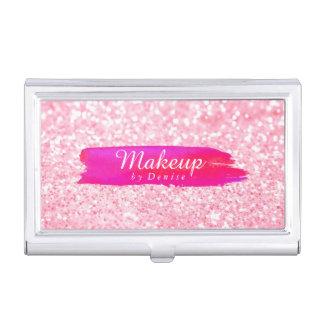 Geschäfts-Kartenhalter - Make-upGlitter-Rosa Visitenkarten-Halter