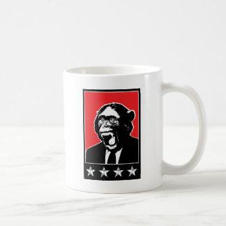 Geschäfts-Reihen-Schimpanse Kaffeetasse