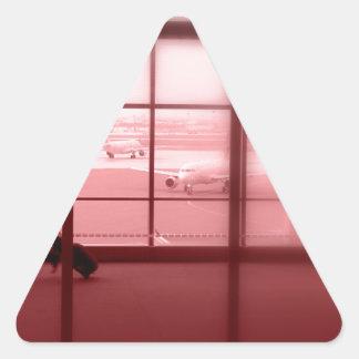 Geschäfts-Sklave Dreieckiger Aufkleber