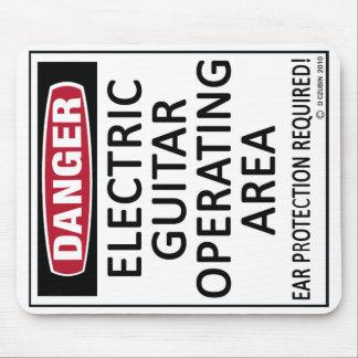 Geschäftsfeld-E-Gitarre Mauspad