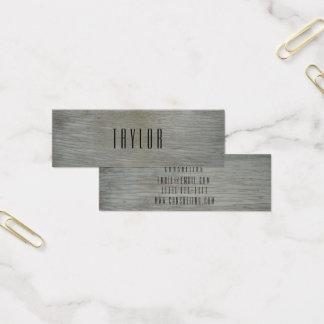 Geschäftskarte der hölzernen rustikalen Farbe Mini Visitenkarte