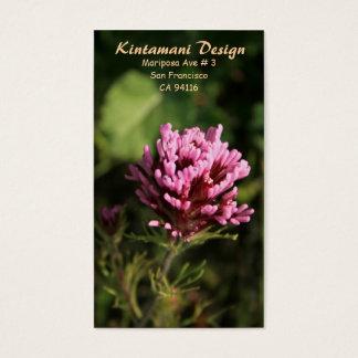 Geschäftskarte - Wildblume Visitenkarte