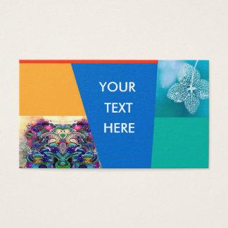 Geschäftskarten-Blume Visitenkarte