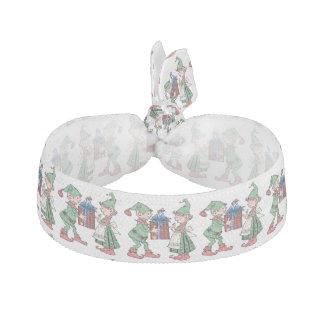 Geschenk, das Elfe gibt Haarschleife