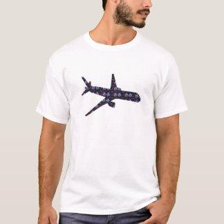 Geschenk der Flugzeug-Jet-Flug-Hubschrauber-Reise T-Shirt