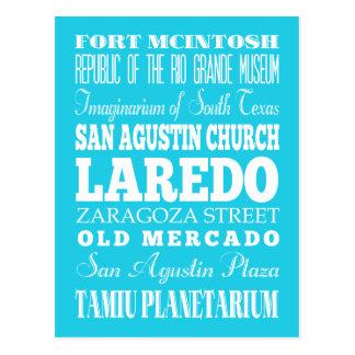 Geschenk einzigartigen Laredos, Texas Postkarte
