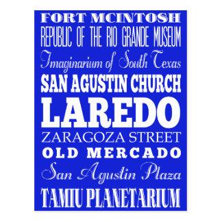 Geschenk-Idee einzigartigen Laredos, Texas Postkarte