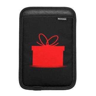 Geschenk in einem roten Kasten Sleeve Für iPad Mini
