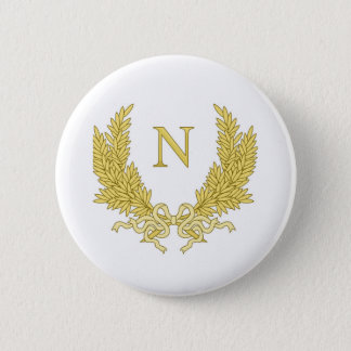 Geschenk Napoleon Bonaparte: Napoleon-persönlicher Runder Button 5,1 Cm