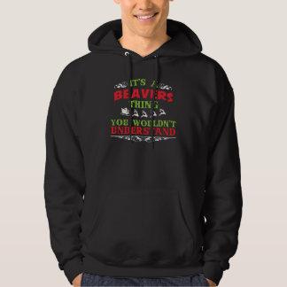 Geschenk-T-Shirt für BIBER Hoodie