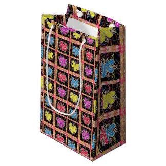 Geschenk-Tasche Goodluck bunte Kleine Geschenktüte