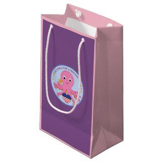 Geschenk-Taschen-Krake für ein Frühchen US Kleine Geschenktüte