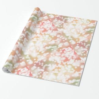 Geschenk-Verpackungs-Aquarell PastellBokeh Geschenkpapier