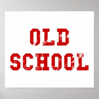 Geschenke des alte Schulplakat-| Oldskool Poster