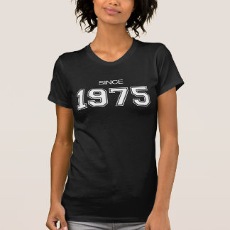 Geschenkidee des Geburtstages 1975 T-Shirt