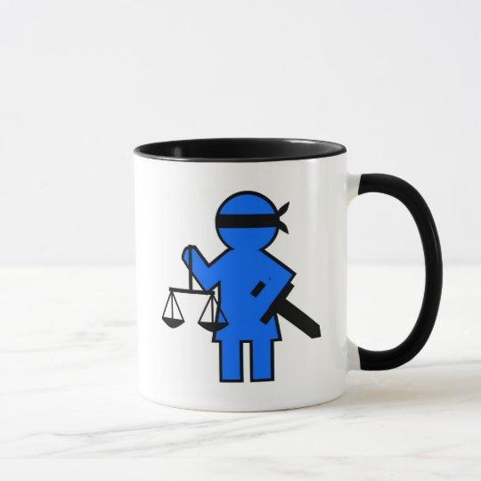 Geschenkidee für Rechtsanwalt Tasse