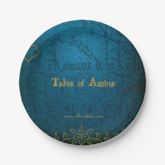 Geschichten Ambia PapierTellers Pappteller 17,8 Cm
