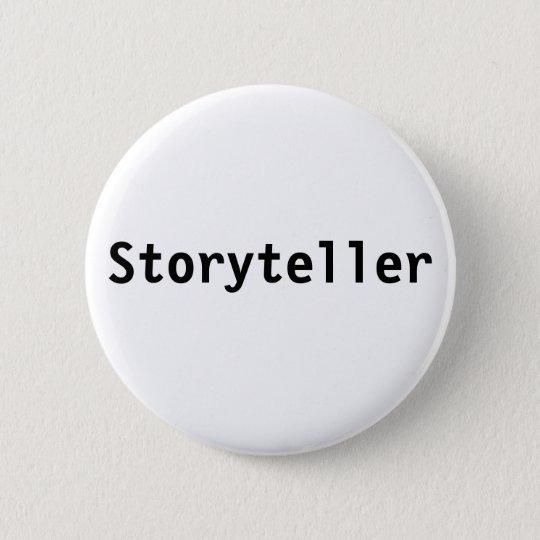 Geschichtenerzähler Runder Button 5,7 Cm