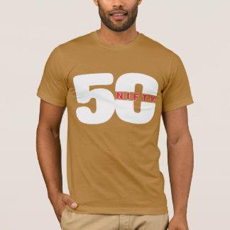 GESCHICKTES 50 Grafik GEBURTSTAG T-Stück T-Shirt