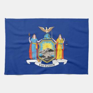 Geschirrtuch mit Flagge von New York, USA