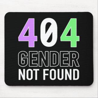 Geschlecht 404 Mousepad