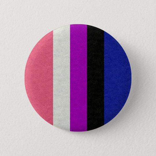 Geschlechts-Flüssigkeits-Flagge Runder Button 5,7 Cm