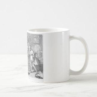 Geschmack im hohen Leben durch William Hogarth Kaffeetasse