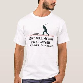 Geschmackloser Siegel Clubbing T-Shirt