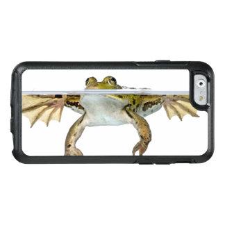 Geschossen von einem essbaren Frosch, der vor a OtterBox iPhone 6/6s Hülle