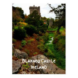 Geschwätz-Schloss, Irland Postkarte