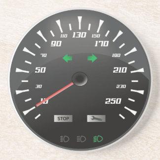 Geschwindigkeitsmesser Untersetzer