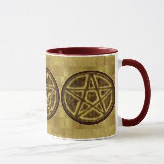 Gesegnet seien Sie Hexe-Prim Pentagramm Tasse