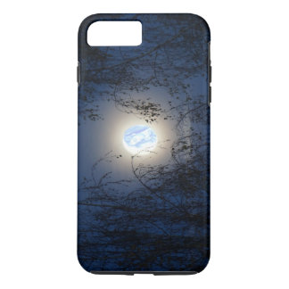 Gesegnete Jungfrau Mary im Mondlite-Wald iPhone 7 Plus Hülle